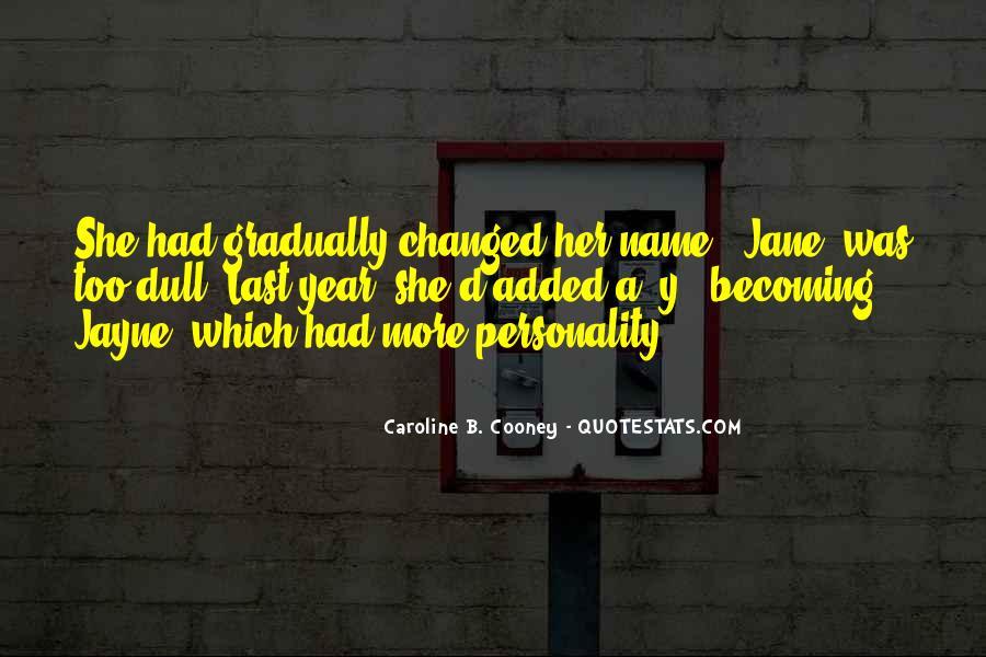 Caroline Cooney Quotes #511676