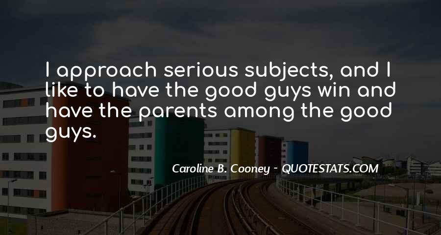 Caroline Cooney Quotes #601591