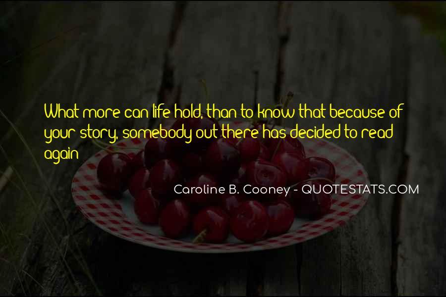 Caroline Cooney Quotes #742564