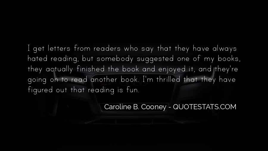 Caroline Cooney Quotes #91679