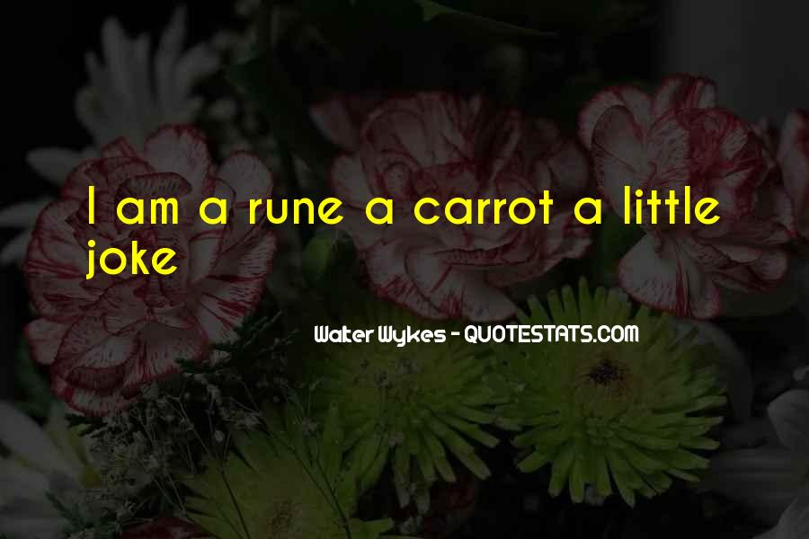 Carrot Quotes #478035