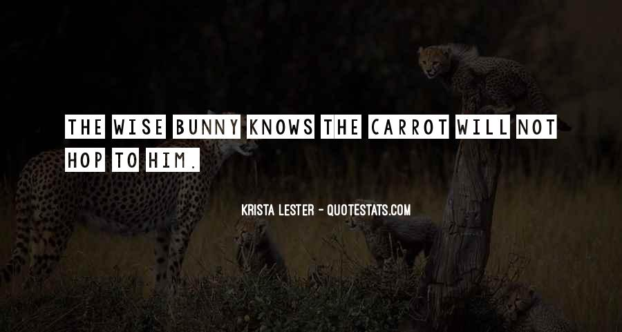 Carrot Quotes #570084