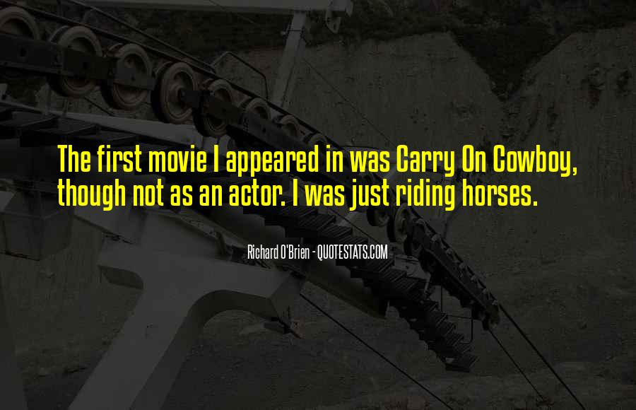 Carry On Cowboy Quotes #1234261