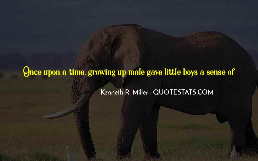 Quotes About Little Boys Growing Up #1244508