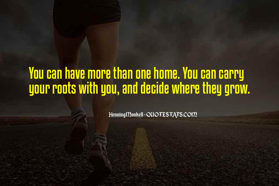 Carry You Home Quotes #1152671