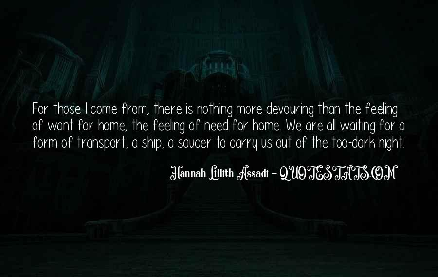 Carry You Home Quotes #1314060