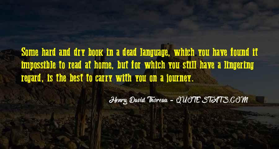 Carry You Home Quotes #1323677