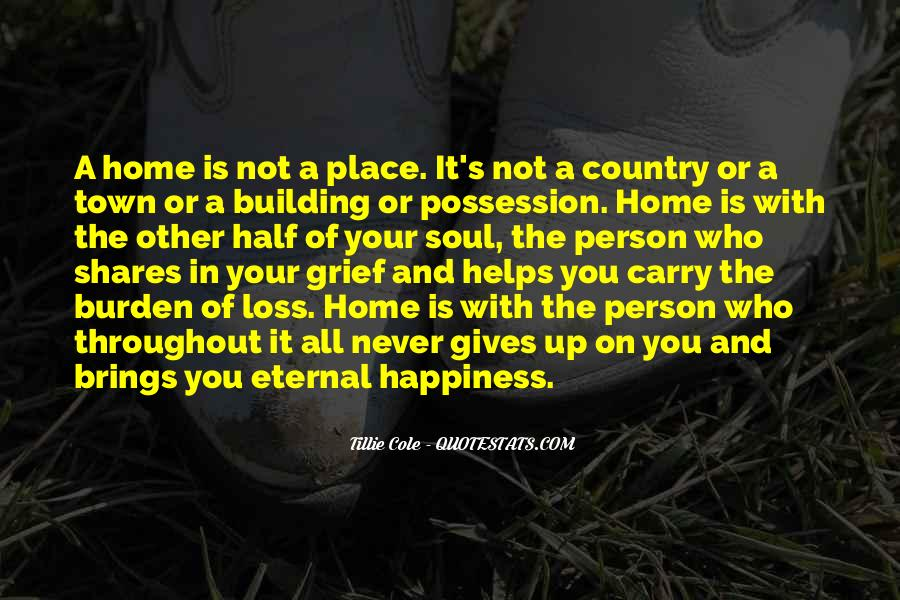 Carry You Home Quotes #1349823