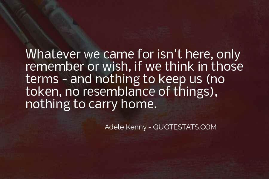 Carry You Home Quotes #268330