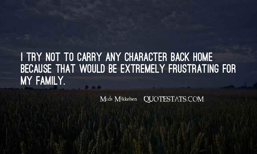 Carry You Home Quotes #782914
