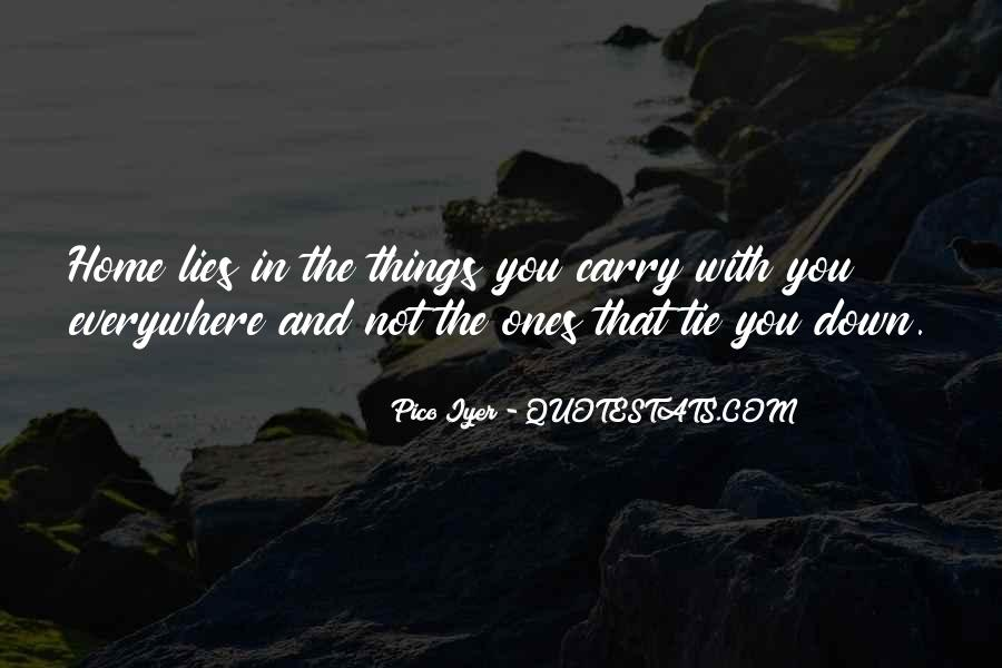 Carry You Home Quotes #819824