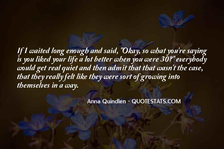 Case Of You Quotes #14285