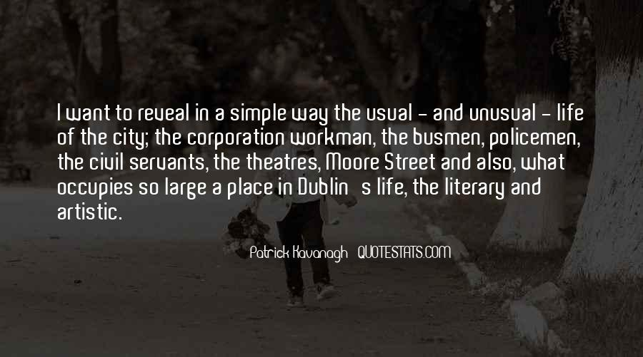 Quotes About Literary Dublin #435972