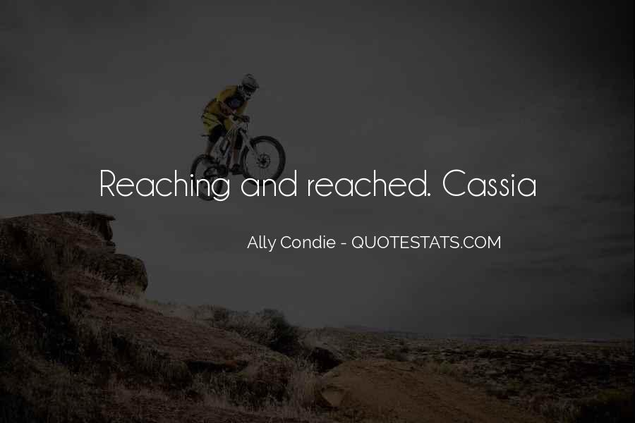 Cassia And Ky Quotes #1364828