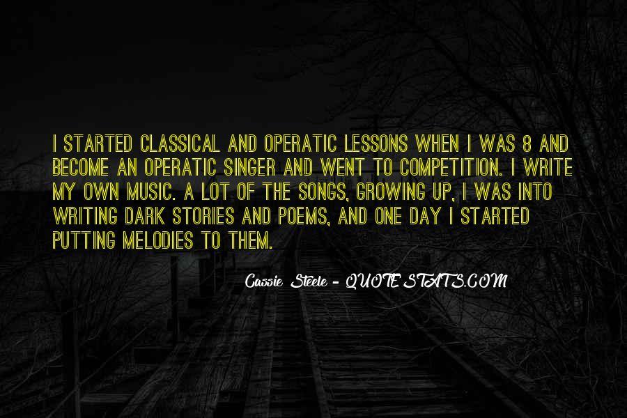 Cassie Singer Quotes #772307