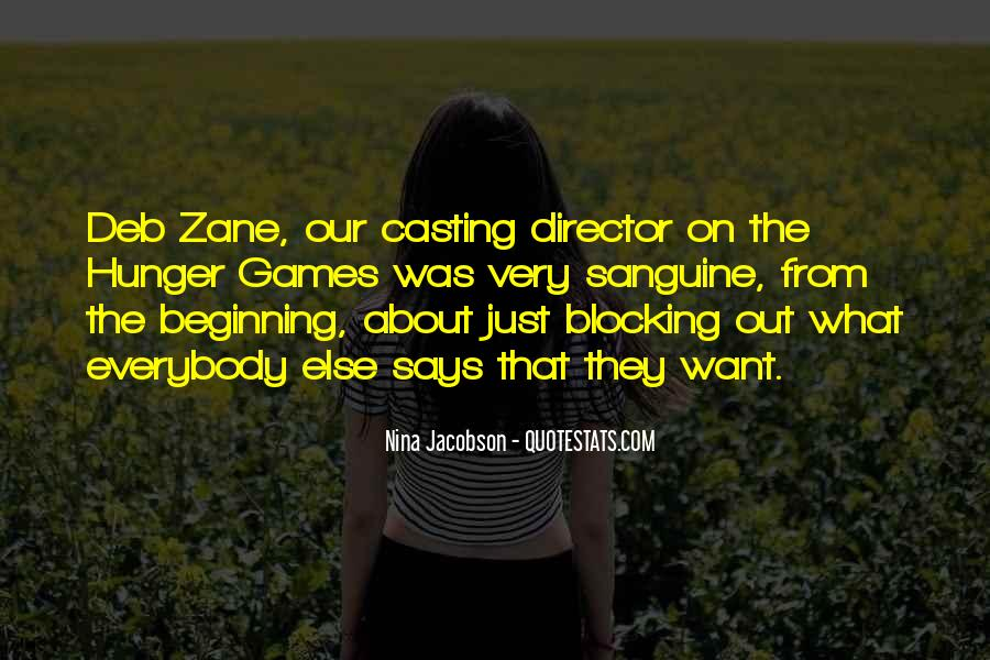 Casting Director Quotes #1010166