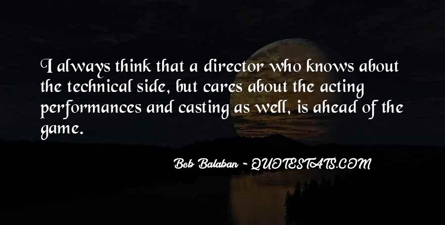 Casting Director Quotes #1128073