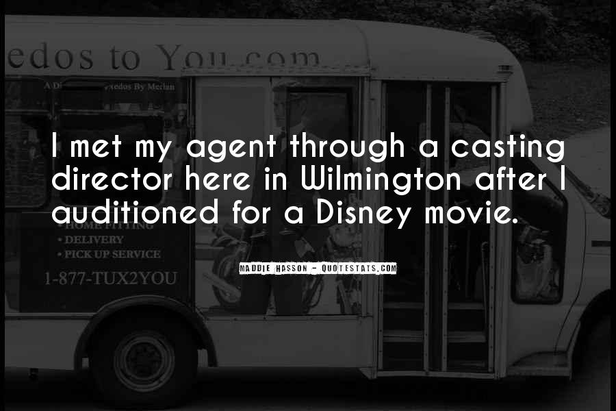 Casting Director Quotes #1342955