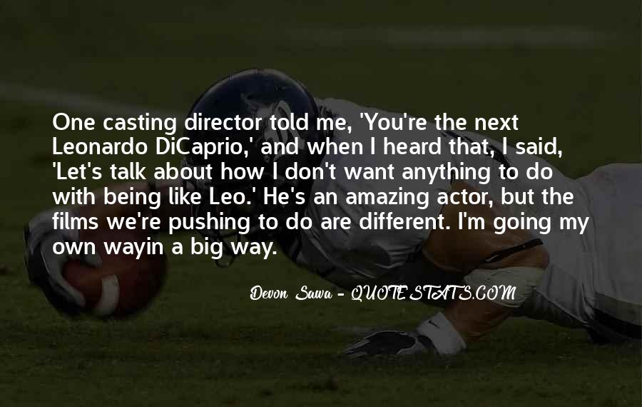 Casting Director Quotes #1616381