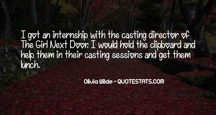Casting Director Quotes #17779