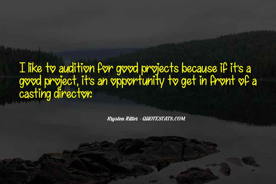 Casting Director Quotes #324614