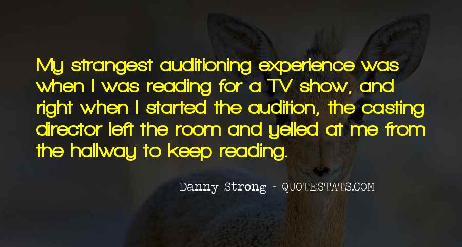 Casting Director Quotes #4210