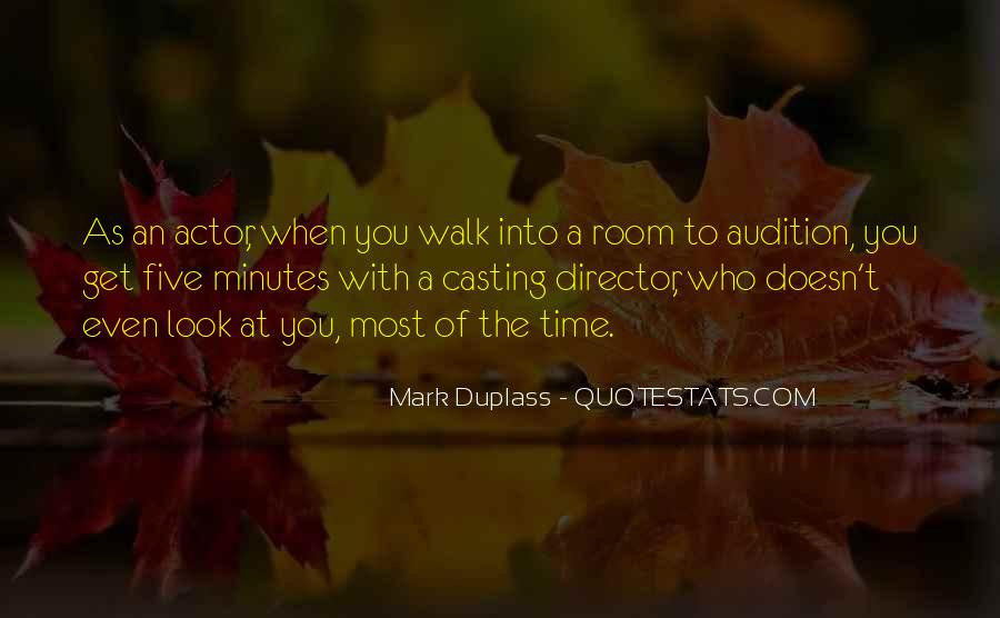 Casting Director Quotes #559320