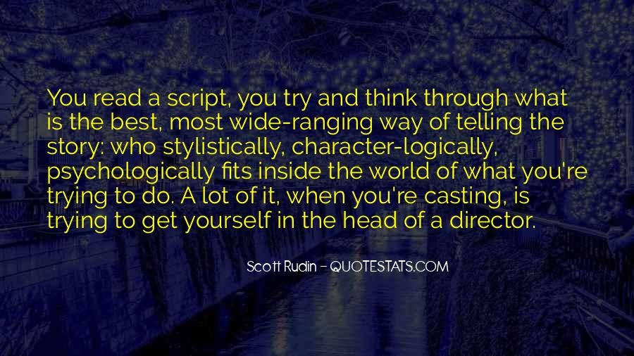 Casting Director Quotes #610166