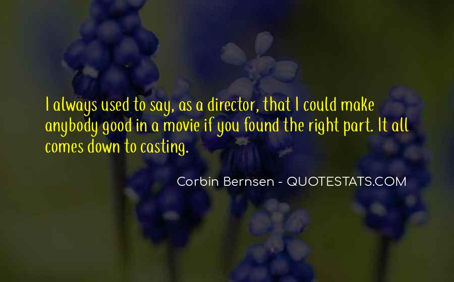Casting Director Quotes #969746