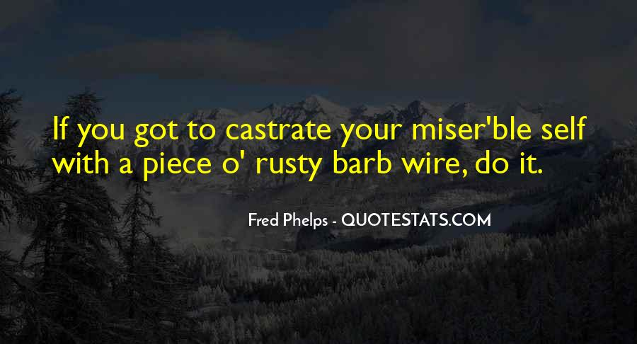 Castrate Quotes #323138