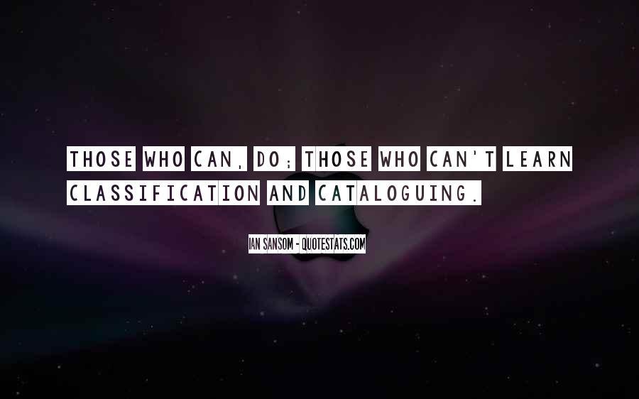 Cataloguing Quotes #1057810