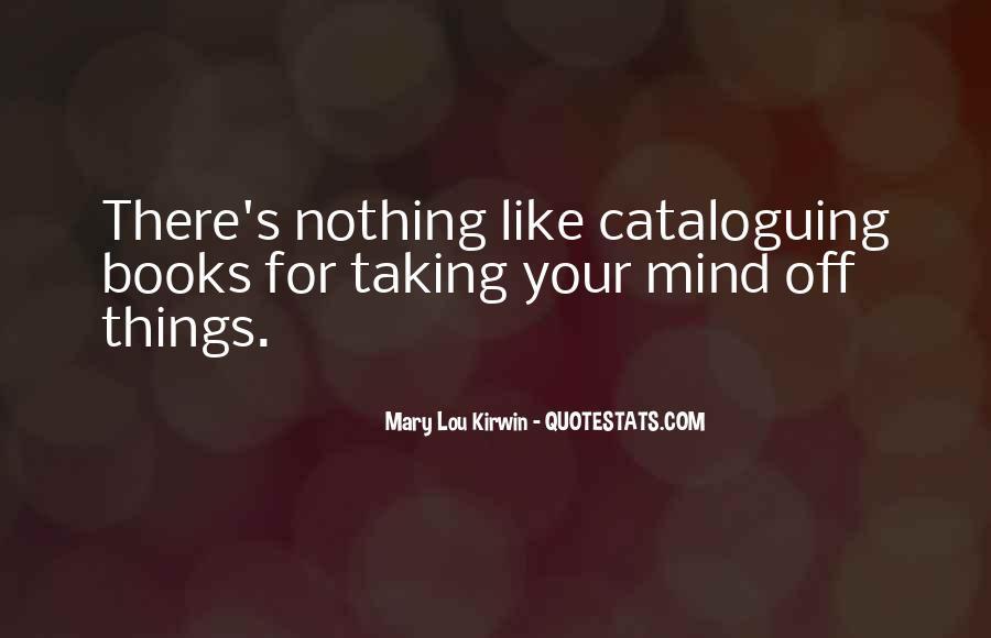 Cataloguing Quotes #30498