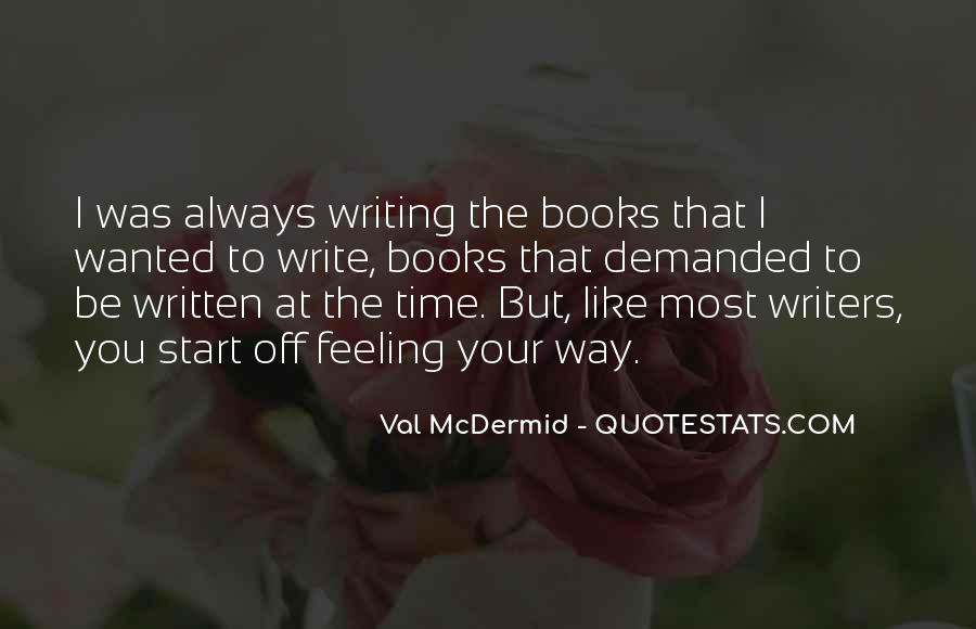 Quotes About Val #526397