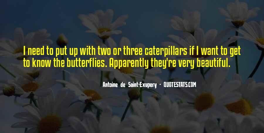 Caterpillars To Butterflies Quotes #941896
