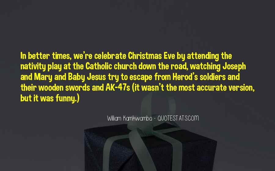 Catholic Nativity Quotes #1654657