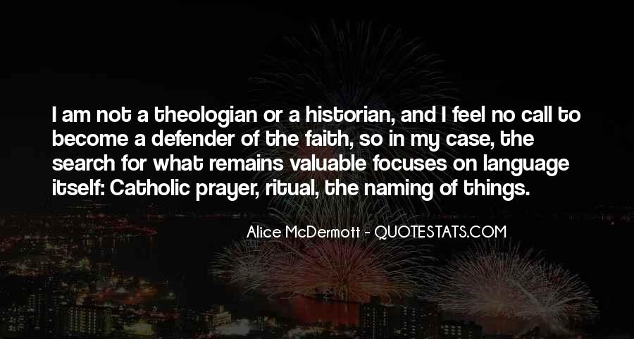Catholic Theologian Quotes #1480513