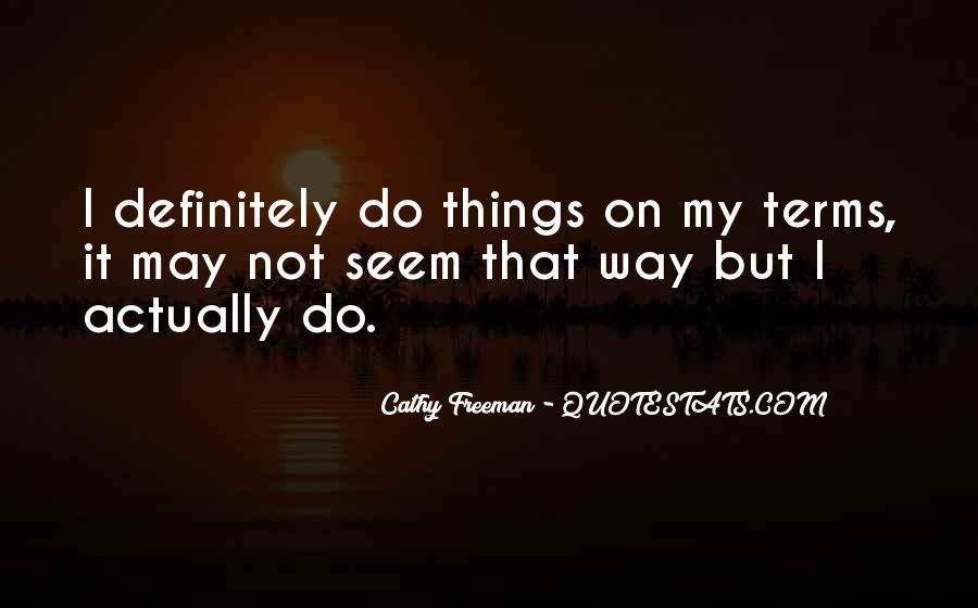 Cathy Quotes #174308