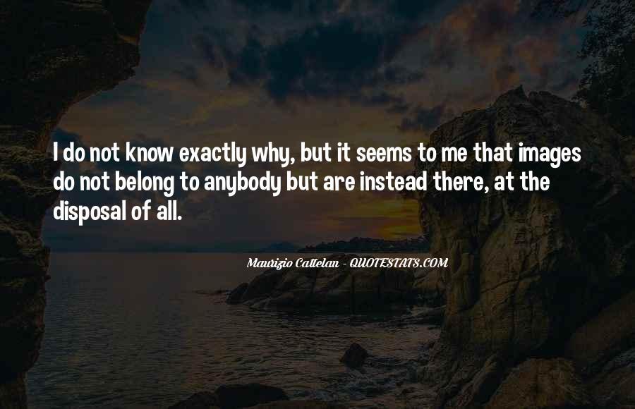 Cattelan Quotes #1740361