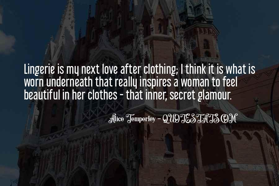 Quotes About Lingerie #1291243