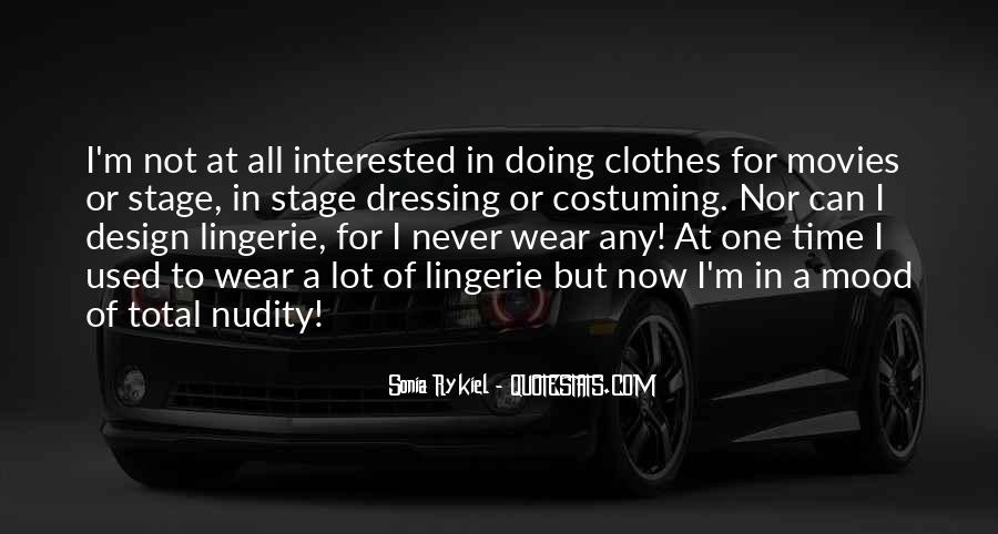 Quotes About Lingerie #906437