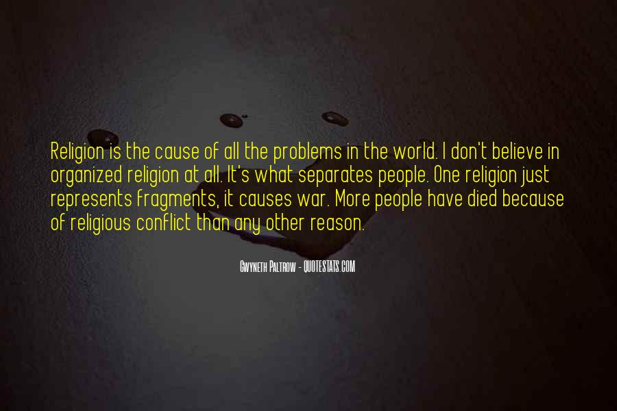 Cause Of World War 1 Quotes #1155607