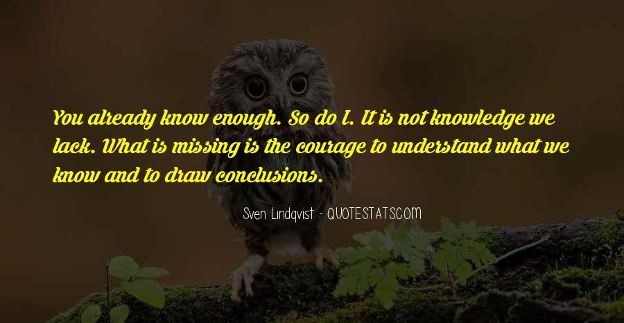 Quotes About Lindqvist #1111524