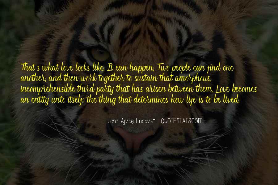 Quotes About Lindqvist #1569520