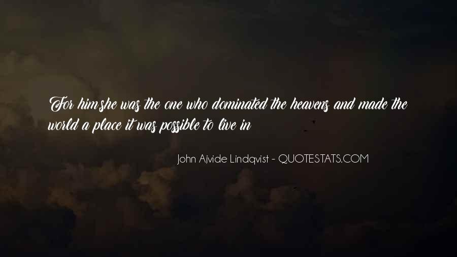 Quotes About Lindqvist #1675625