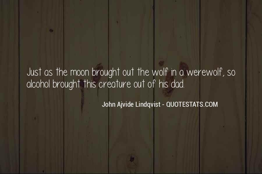 Quotes About Lindqvist #1732881