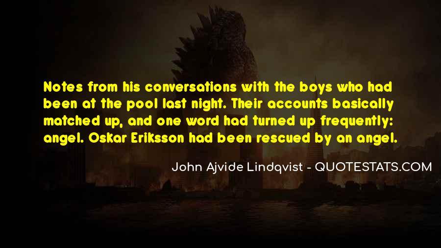 Quotes About Lindqvist #211104