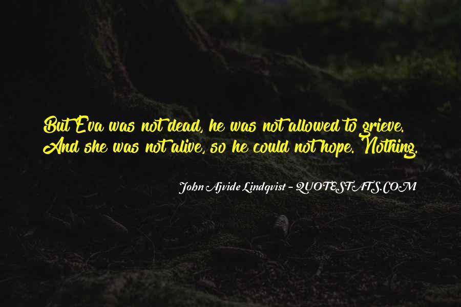 Quotes About Lindqvist #43486