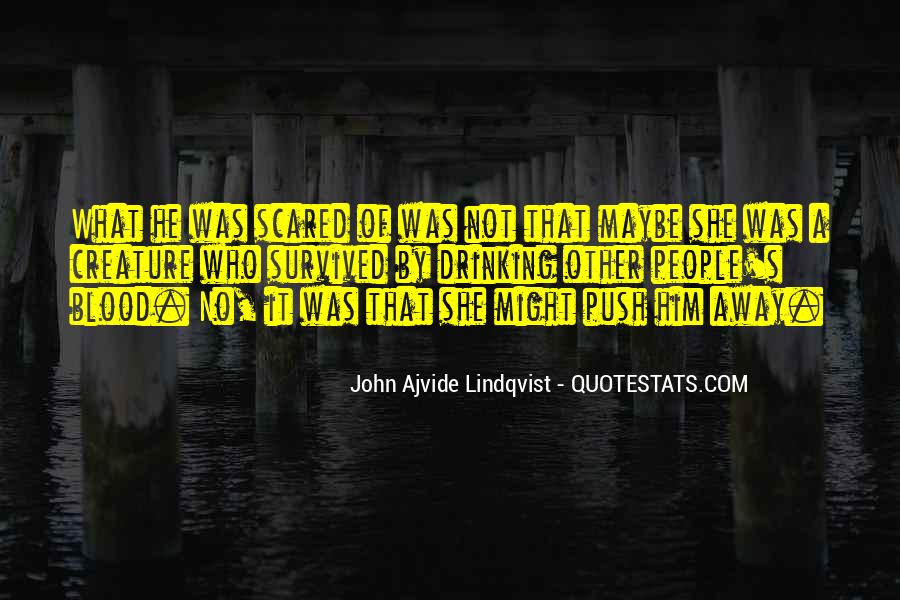 Quotes About Lindqvist #723556