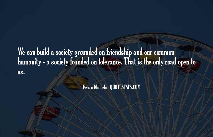 Quotes About The Road Of Friendship #59145
