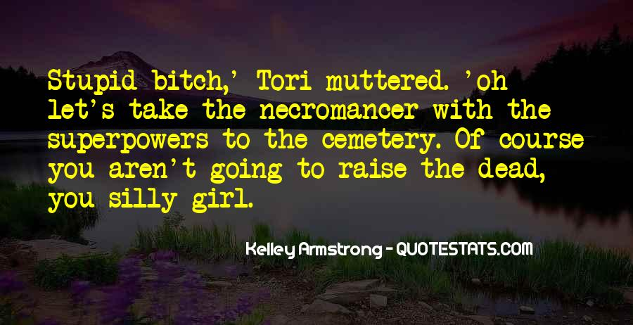 Cemetery Girl Quotes #1069729